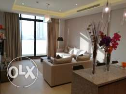 Elegant 1 bed room 2 Bathroom Apartment for rent at Seef