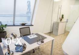Office for 3 people in Bahrain World Trade Center