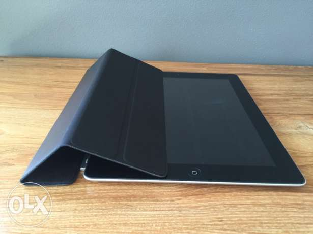 iPad Smart Cover single (leather black)