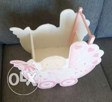 Baby stroller chocolate stand