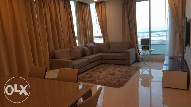 New Hidd: 2 bedroom fully furnished seaview luxury apartment for rent