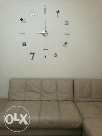 Frameless wallclock