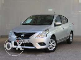 Nissan Sunny 2016 Silver For Sale