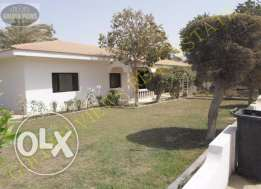 4 Bedroom semi furnished villa with large private garden