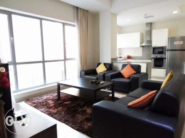 2 bedroom apartment fully furnished *BD400* INCLUSIVE