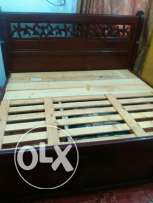 King size double bed Bahrain wood very strong