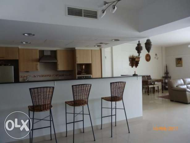 Furnished 2 bedrooms with Beach & Sea views