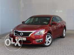 Nissan Altima SV 2015 Maroon Color For Sale