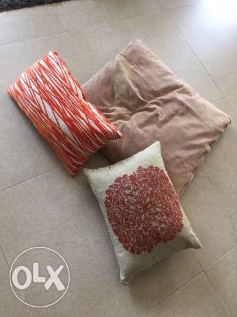 3 cushions for sale!!