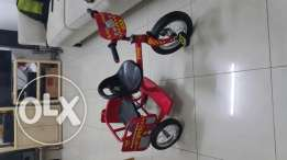 Kids three wheels bicycle