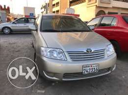 2005 toyota corolla gold colour for sale