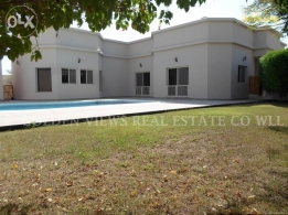 4 Bedroom semi furnished villa with private pool,garden inclusive