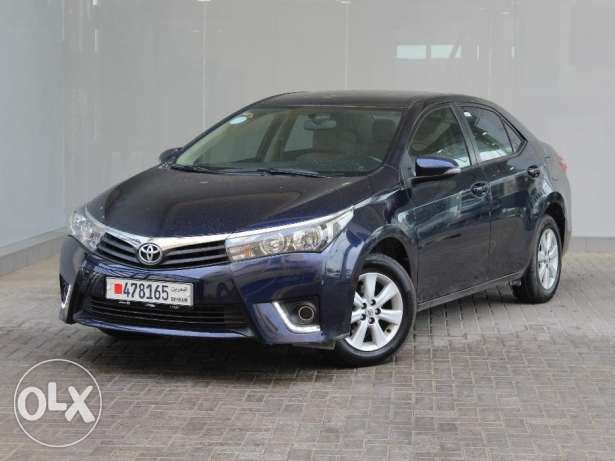 Toyota Corolla 2.0L XLI 2014 Blue For Sale