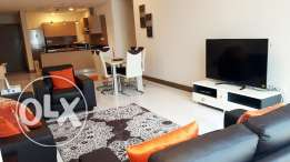 F.F. 2 bedroms apartment in Seef area