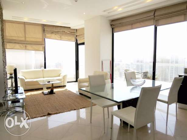 1 bedroom elegantly furnished - high floor - superb city view