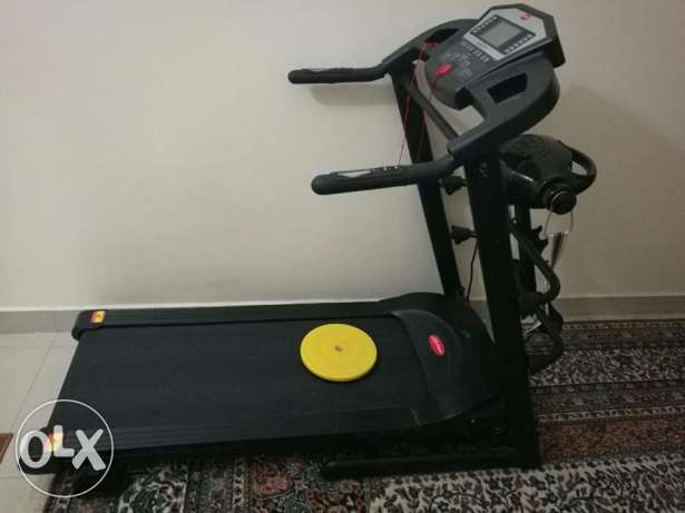 treadmill+Massager