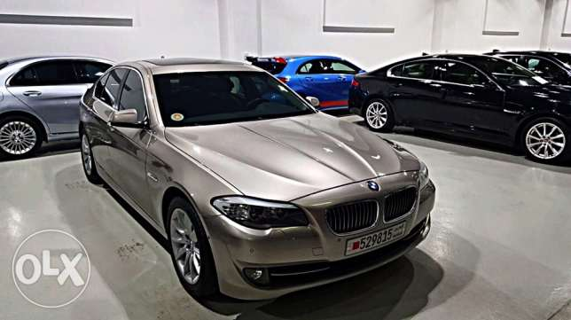 BMW 535i 2012 Warranty to 8/2018 full options