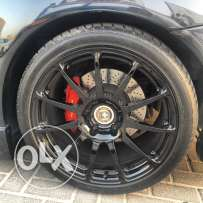 HRE wheels for Carrera