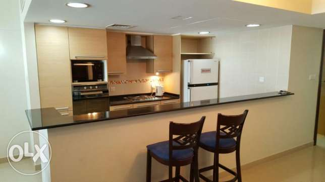 2br flat for rent in amwaj island [fully furnished] جزر امواج  -  4