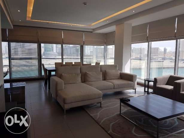 3 Bedroom Fully Furnished Apt in Reef Island Full Sea View