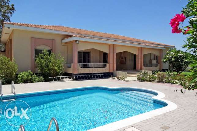 5br Villa with a Private Garden and Pool