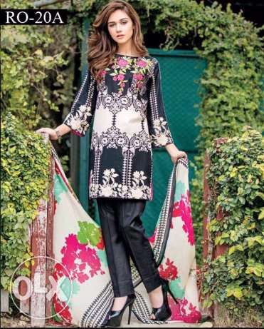 Orignal Charizma Embroidered Lawn
