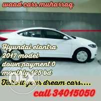 Hyundai sonato new 2017 model for sale .for installments also