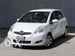 TOYOTA YARIS 2010 White Color For Sale