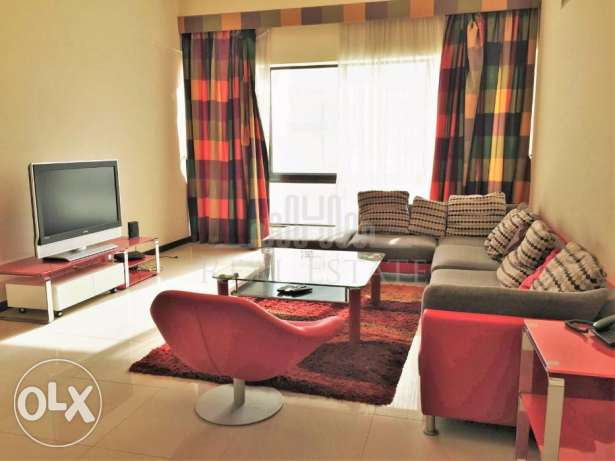 Spacious and fully furnished duplex.
