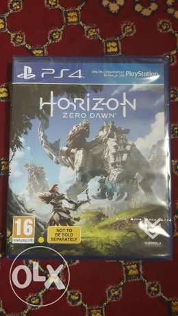 (Horizon zero down) PS4 Cd for sale