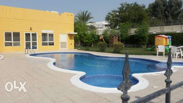 fully furnishe villa close to saudi causeway