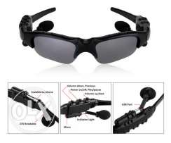 smart Bluetooth sunglasses with spare lens