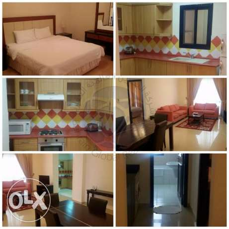 Very Spacious Fully Furnished Apartments Available السنابس -  2