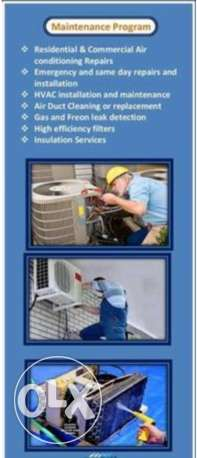 We repair Airconditioning & Doing Home Appliances Repair,Sevice and Ma