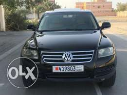 VW touareg for sale single owner accident free