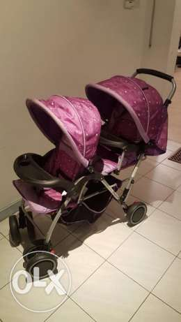 Twins Stroller for sale in very good condition