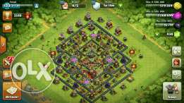 Clash of clan for sale all max level of town hall 10th call me or me 3