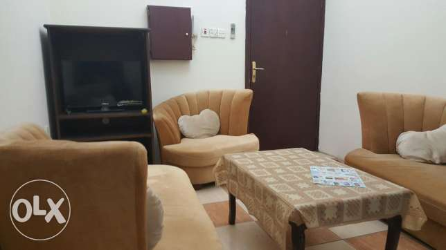 Fully furnished flat in gudaibiya