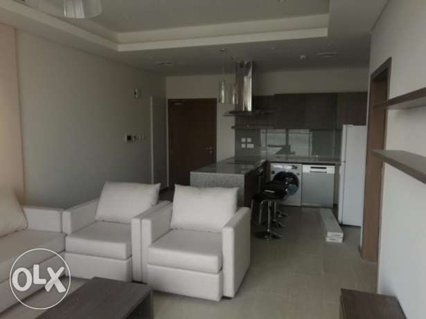 Modern look 1 bed room 2 Bathroom Apartment for rent at Seef