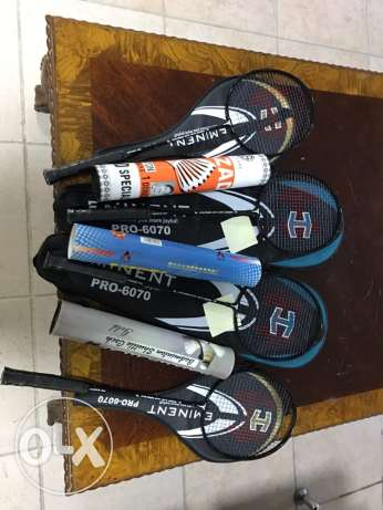 Badminton goods for sale