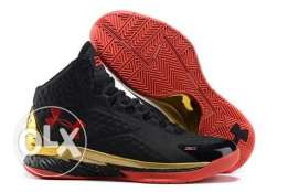 Under armour curry 1 black and gold