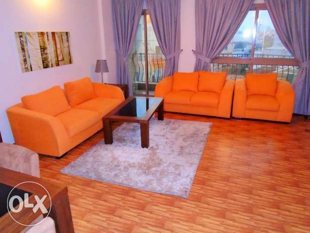 Adliya! 2 bedroom flat fully furnished