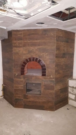 Pizza bakery oven