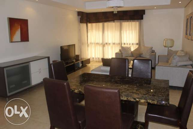 Near Seef New Sanabis 2 BR apartment / Balcony