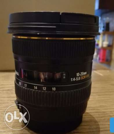 Sigma lens for Canon