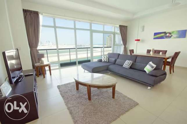 Amazing 2 BR in Seef Sea view