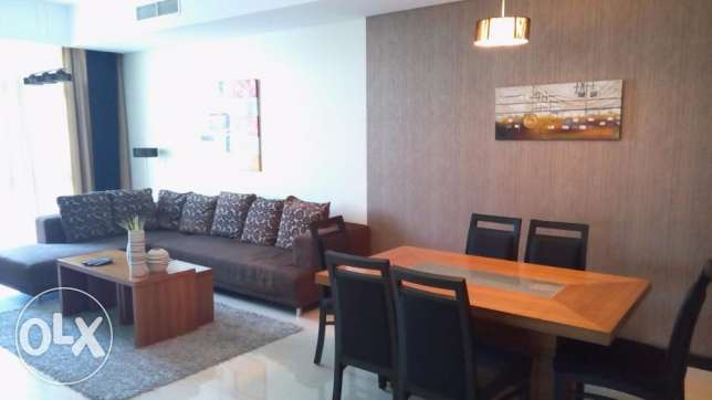 Spacious Luxury 3 BR Fully Apartment in Juffair with Sea view