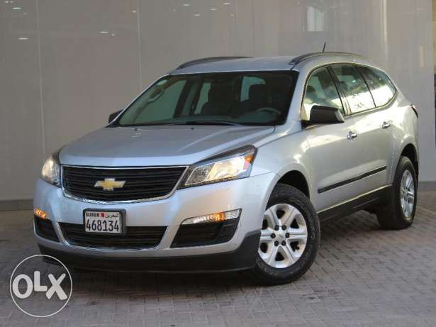 chevrolet Traverse FWD LS 2014 Silver For Sale