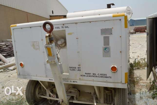 Keco AM32C-17 Mobile Electrical Generator/ Air conditioning units