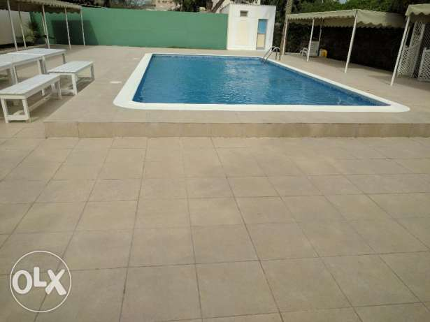 3 Bedroom semi furnished villa for rent with large garden